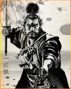 Famoso Samurai Miamoto Musashi