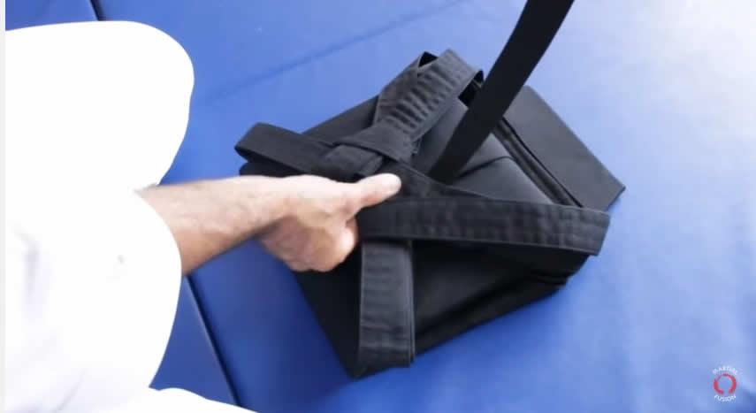 Hakama de Aikido - como dobrar