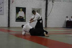 Seki Shihan demonstrando Aikido em 2014