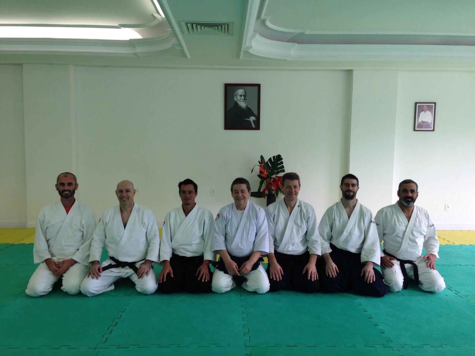 No Seminário de Seki Shihan em Blumenau SC 2015